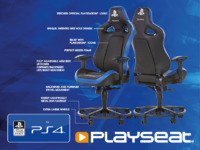 Playseat L33T Gaming Chair - Playstation Edition for  image