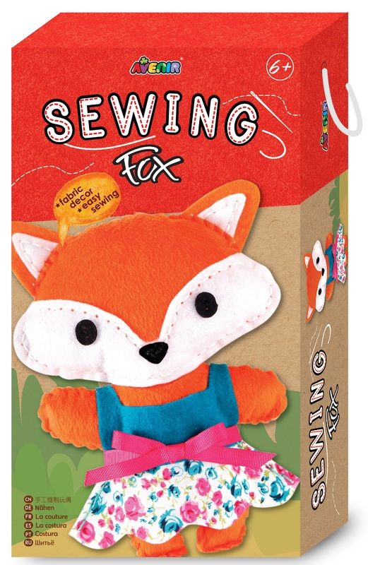 Avenir: Sewing Doll Kit - Fox