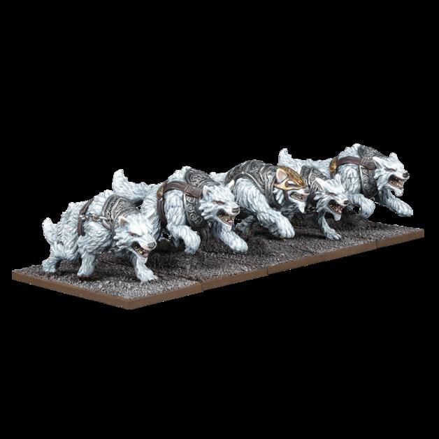 Kings of War: Tundra Wolves Troop