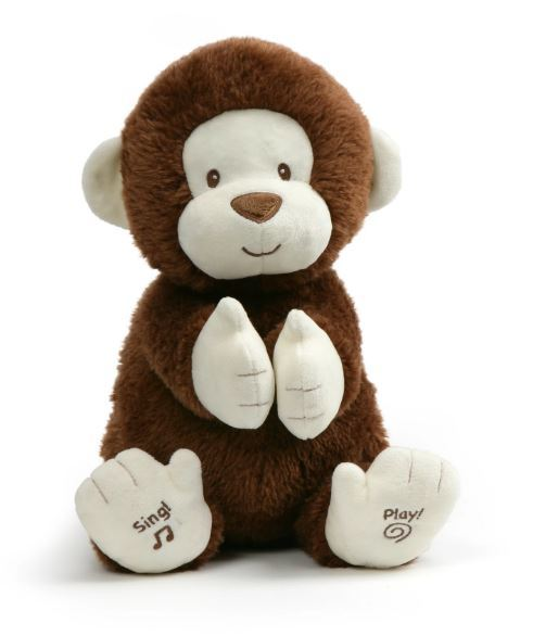 Gund: Clappy the Monkey - Animated Plush