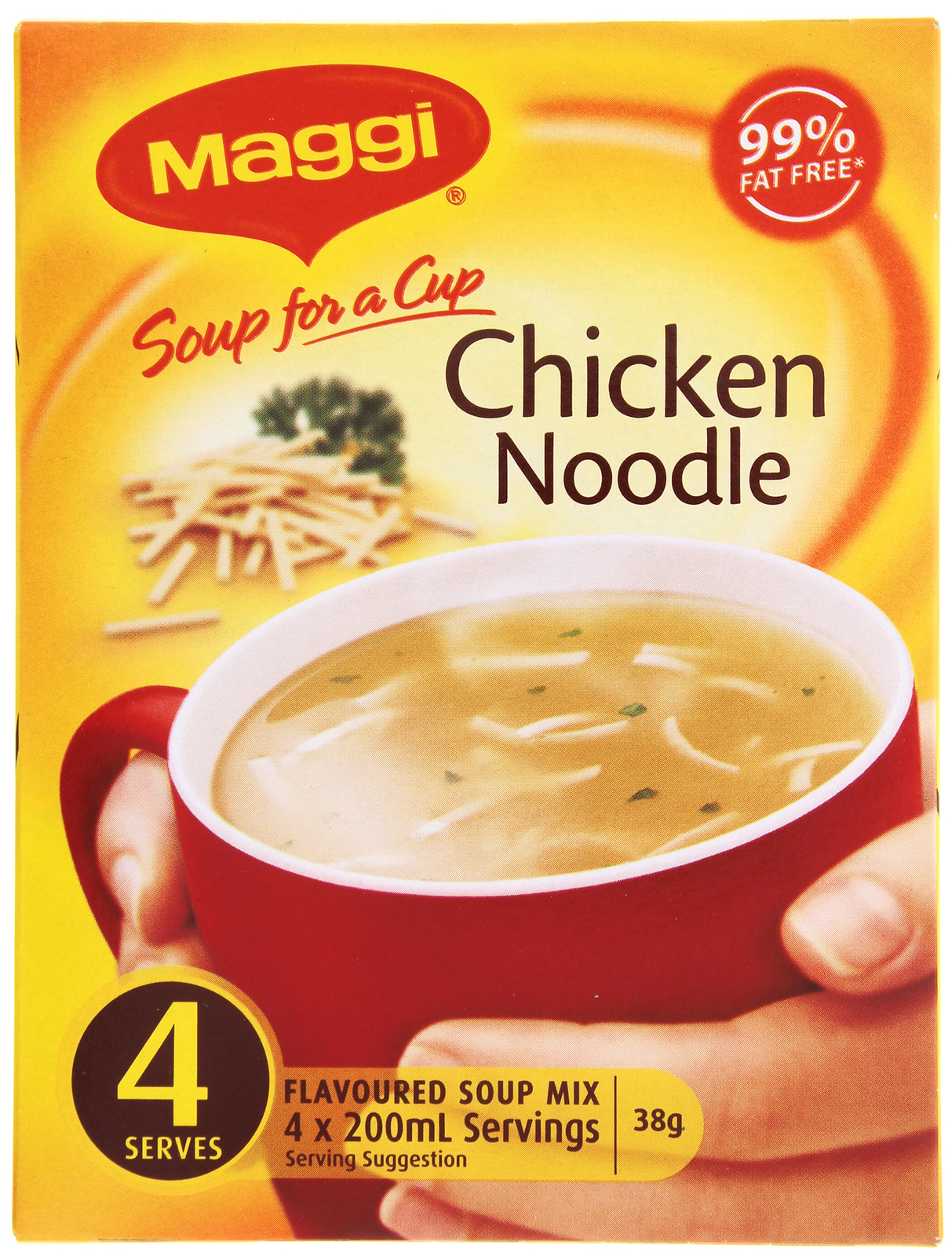 MAGGI Soup for a Cup Chicken Noodle 38g (48 Pack) image