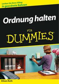 Ordnung Halten Fur Dummies by Eileen Roth image