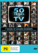 50 Years Of Television (2 Discs) on DVD