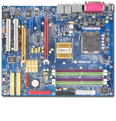 Albatron Motherboard PX915P-AGPE P4 AGP+PCIE+SATA+7.1SND+GB LAN