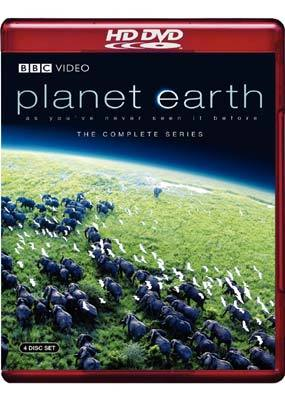 Planet Earth - The Complete Series (5 Disc Box Set) on HD DVD
