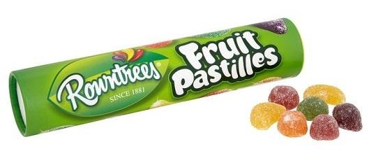 Rowntrees: Fruit Pastilles Tube - 130g