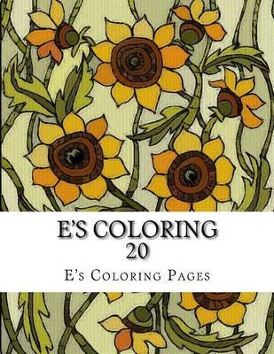 E's Coloring 20 by E's Coloring Pages