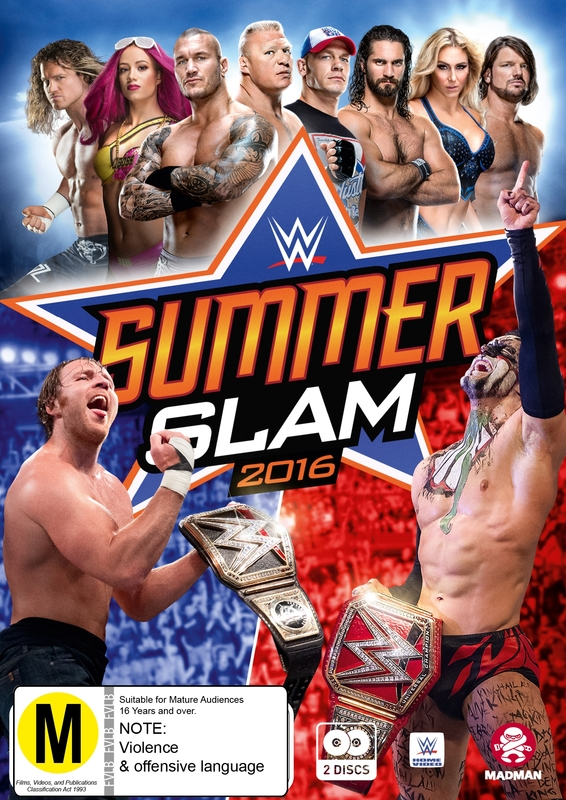 WWE: Summerslam 2016 on DVD