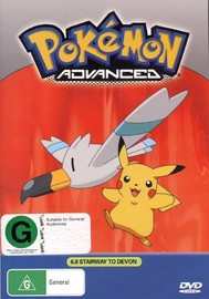 Pokemon - Advanced 6.8: Stairway To Devon  on DVD image