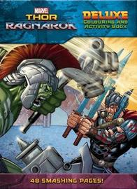 Marvel: Thor: Ragnarok Deluxe Colouring & Activity Book