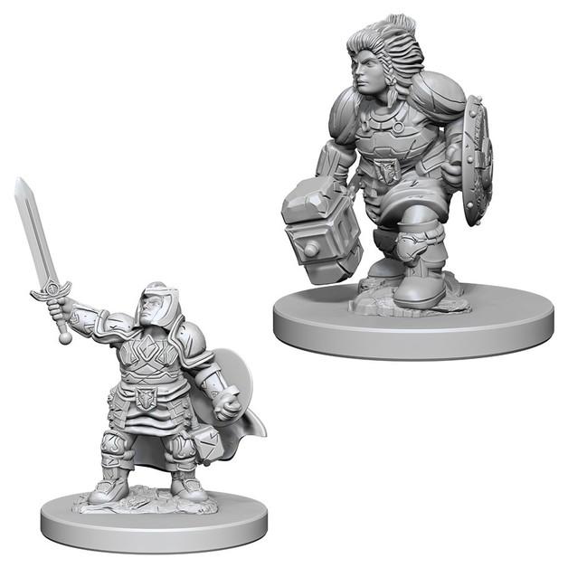 D&D Nolzur's Marvelous: Unpainted Minis - Dwarf Female Paladin