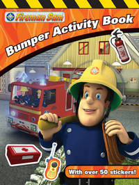 Fireman Sam Bumper Activity Book image