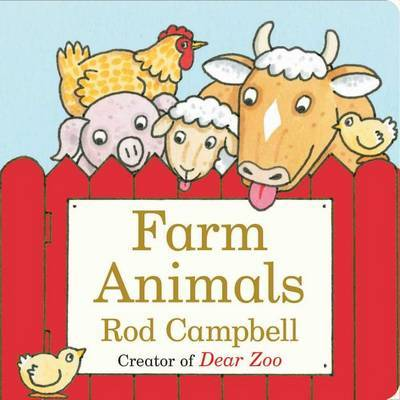 Farm Animals by Rod Campbell image