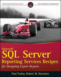Microsoft SQL Server Reporting Services Recipes: for Designing Expert Reports by Paul Turley image