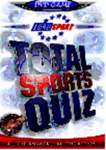 Interactive DVD Total Sports Quiz on DVD
