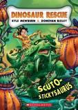 Scuto-stickysaurus by Kyle Mewburn