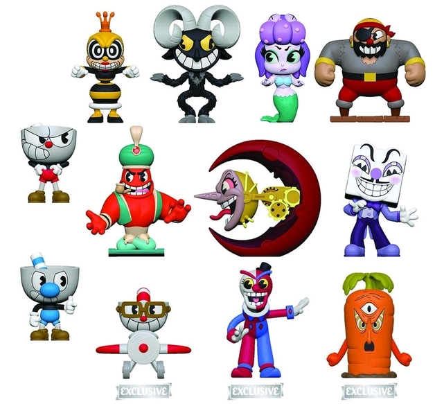 Cuphead - Mystery Minis Figure [GS Ver.] (Blind Box)