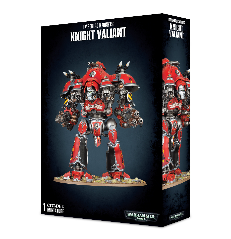 Warhammer 40,000 Imperial Knights - Knight Valiant image