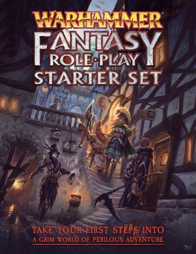 Warhammer Fantasy Roleplay 4th Edition Starter Set image