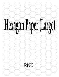Hexagon Paper (Large) by Rwg