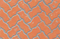 JTT Styrene Pattern Sheets Interlocking Paving (2pk) - H0 Scale