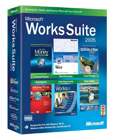 Microsoft Works Suite 2005 OEM