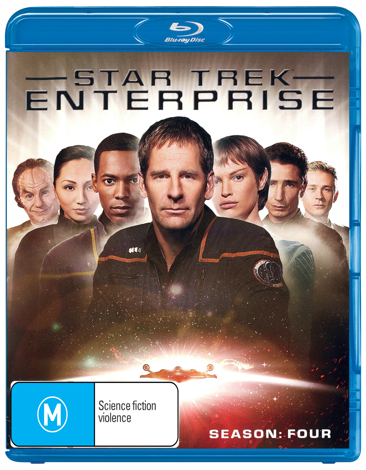 Star Trek Enterprise - Season Four on Blu-ray image