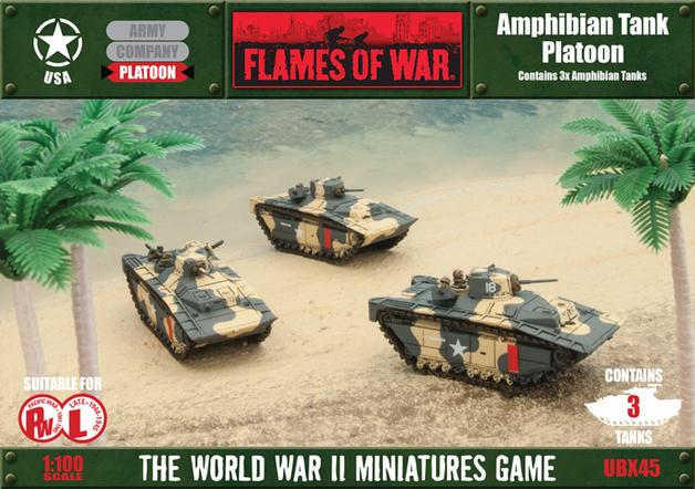 Flames of War: Amphibian Tank Platoon