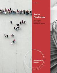 Social Psychology by Saul M. Kassin image