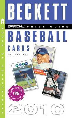 The Official Price Guide to Baseball Cards by Dr James Beckett, III