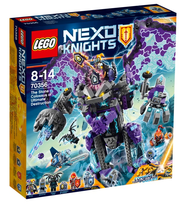 LEGO Nexo Knights: The Stone Colossus of Ultimate Destruction (70356)