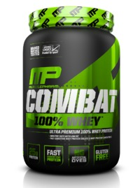 MusclePharm Combat 100% Whey - Strawberry (2.27kg)