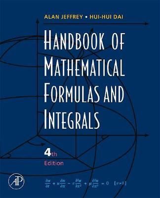 Handbook of Mathematical Formulas and Integrals by Alan Jeffrey image
