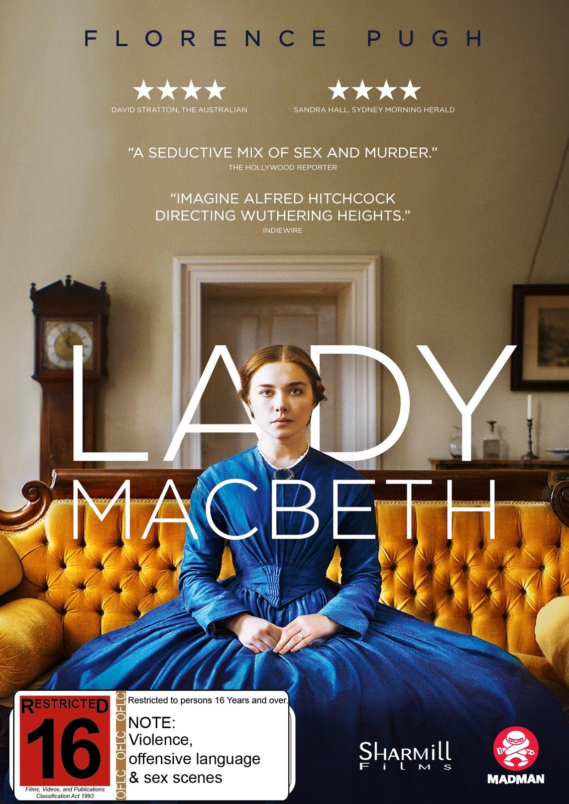 Lady Macbeth on DVD image