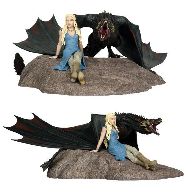 Game of Thrones: Daenerys & Drogon - Collectors Statue