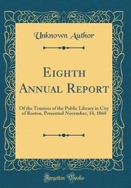 Eighth Annual Report by Unknown Author image