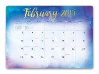 Aquarelle 2019 Desk Blotter Planner image