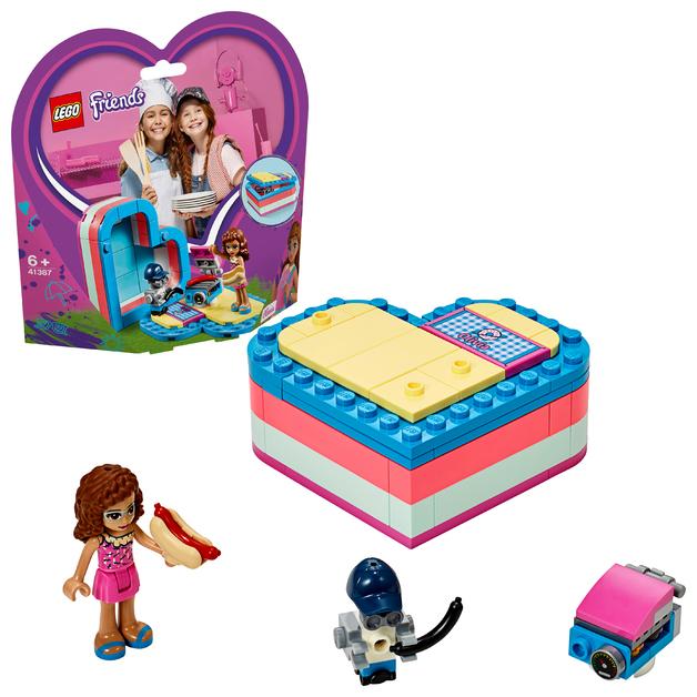 LEGO Friends: Olivia's Summer Heart Box - (41387)
