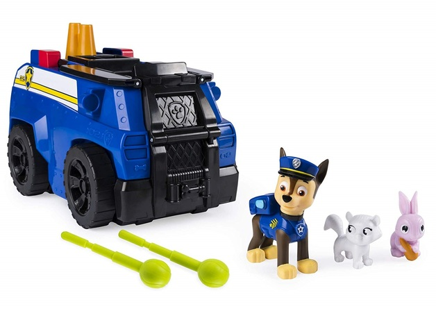 Paw Patrol: Ride & Rescue Playset - Chase's Police Cruiser