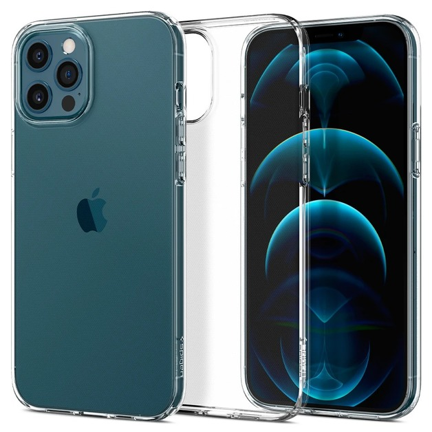 Spigen Liquid Crystal Case for iPhone 12/12 Pro - Crystal Clear