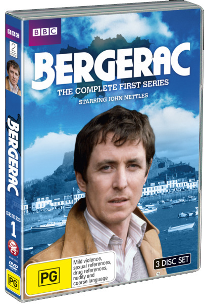 Bergerac - The Complete First Series on DVD image
