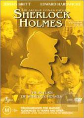 Sherlock Holmes - Vol 4 on DVD