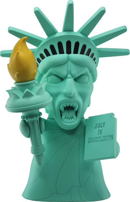 Doctor Who Statue of Liberty Weeping Angel Vinyl Figure