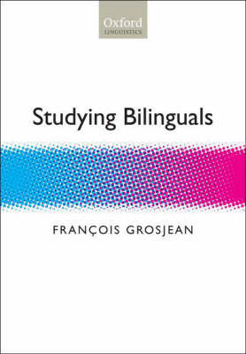 Studying Bilinguals by Francois Grosjean image