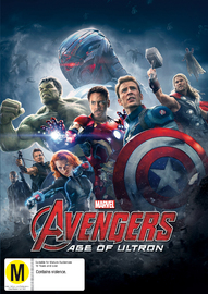 The Avengers: Age of Ultron on DVD