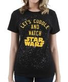 Let's Cuddle & Watch Star Wars T-Shirt (XL)