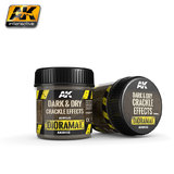 AK Crackle Effects Dark & Dry (100ml)