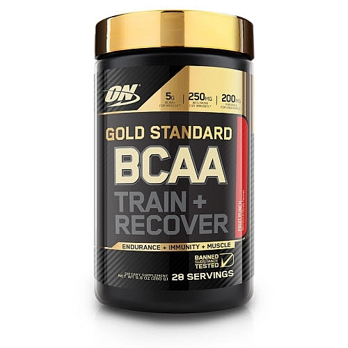 Optimum Nutrition Gold Standard BCAA Train + Recover - Fruit Punch (280g)