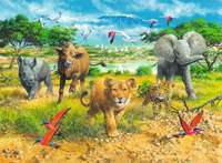 Ravensburger: African Animal Babies - 300pc Puzzle