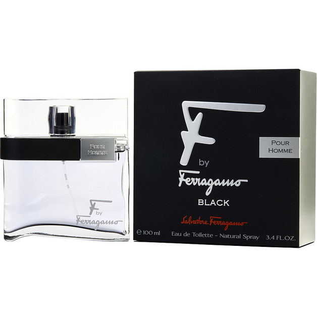 Salvatore Ferragamo - F by Ferragamo Black (100ml EDT)